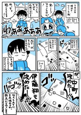 J1(2nd)第13節 横浜F・マリノス戦レポ