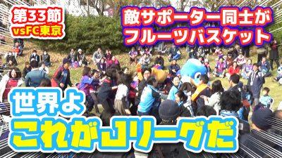 【オガフロ】FC東京対川崎フロンターレの試合を観に行ってきたよ(J1第33節)