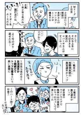 Mリーグ2日目「多井さんのマシンガントーク・風林火山のLINE LIVE」